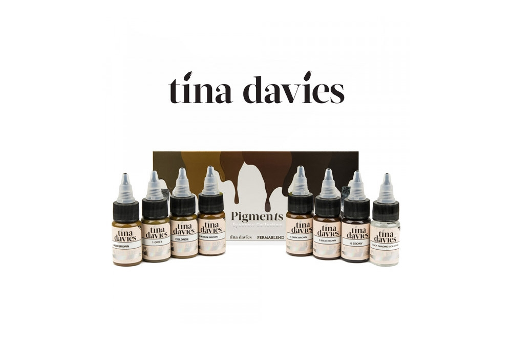 Pigmenti Perma Blend Tina Davies Eyebrow Set 8x15ml