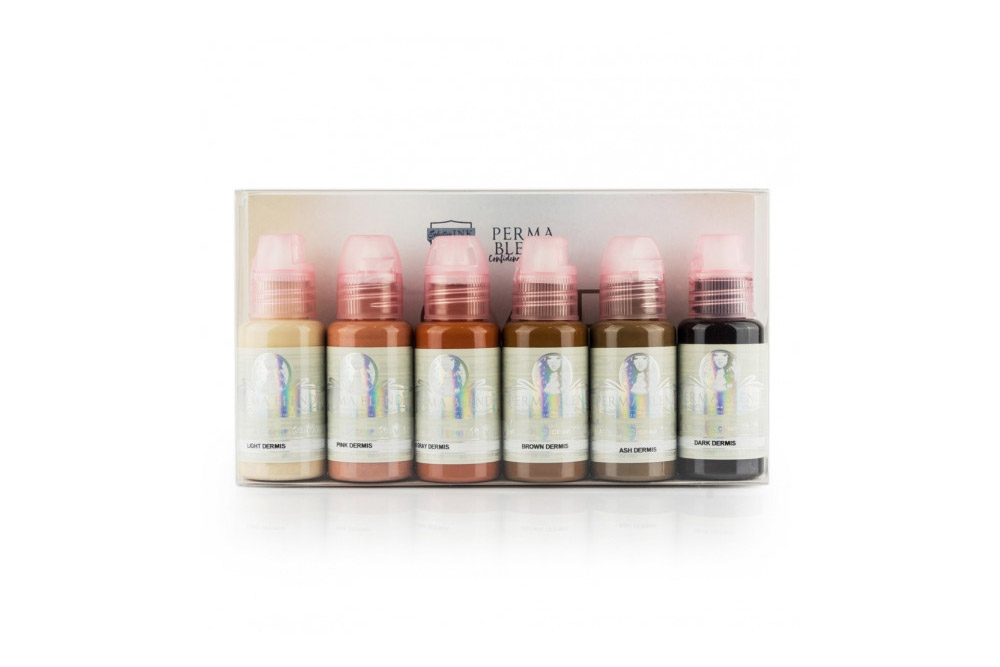 Set Perma Blend Scar Camouflage 6 x 30ml