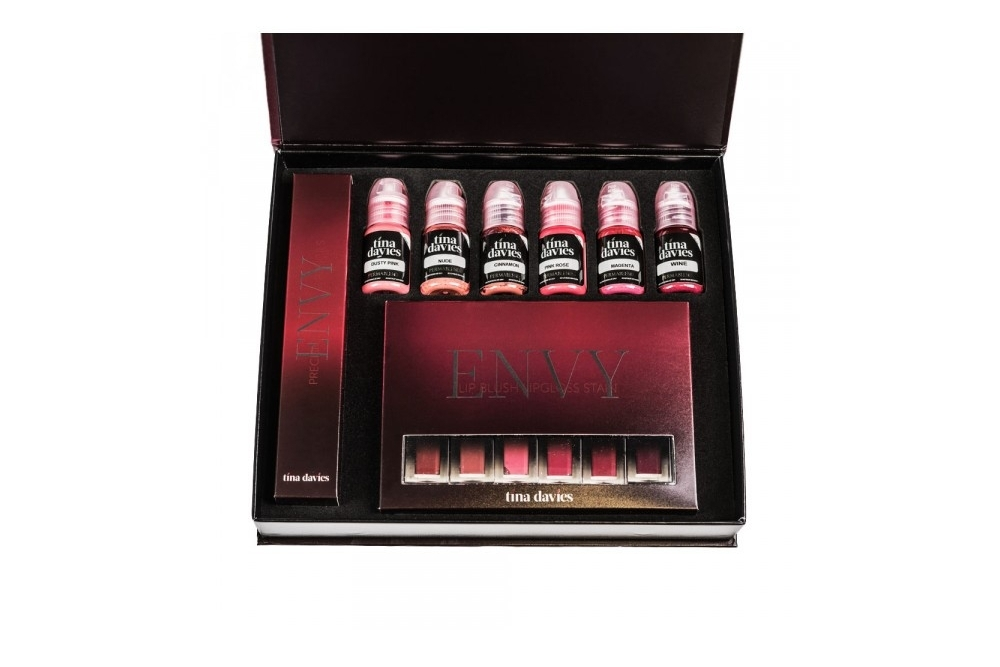 Perma Blend - Tina Davies Envy Lip Set 6 x 15ml
